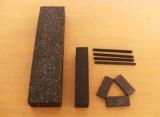 黑碳化硅油石图片